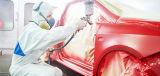 Alta vernice di spruzzo termoresistente per uso dell'automobile