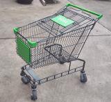 troles da compra do estilo de 160L Austrália com capacidade grande para o supermercado