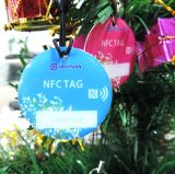 Loyalität NFC des Programms Ntag213 Epoxidmarke mit Brücke