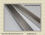 Der 316 Grad-Edelstahl schweißte geprägtes quadratisches Gefäß