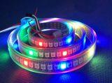 2017 luz de tira flexível do diodo emissor de luz da tira esperta 3528 do diodo emissor de luz da tira 30LEDs/M 60LEDs/M 120LEDs/M 240LEDs/M 360LEDs/M 480LEDs/M Dimmable do diodo emissor de luz SMD3528/5050