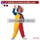 Bufón del circo del traje de la alineada de lujo del partido del payaso del traje del carnaval (BO-1008)