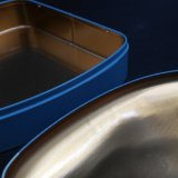 Rectángulo de /Gift de la poder de estaño/rectángulo de la hojalata para las galletas (T003-V1)