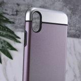 순수한 질 PC iPhone 8을%s 광택이 없는 잡종 전화 상자
