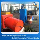 Cylindre hydraulique lourd fait sur commande 500 tonnes