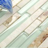 건축재료 무작위 지구 부엌 Backsplash를 위한 유리제 모자이크 타일