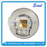 Type chaud instrument Mètre-Industriel en acier Manomètre-Inoxidable de vente de pression