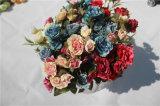 Flores Artificiais Rosas Baratas para Decoração para Casa