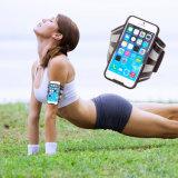 Ejecución de jogging deportivo brazalete caso del teléfono del ejercicio Cubierta brazo deportivo