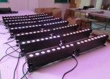 2016 nueva iluminación del transmisor LED de la batería de 9X18W Rgabw+UV