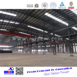 Gran taller/fábrica de la estructura de acero de la calidad del precio bajo