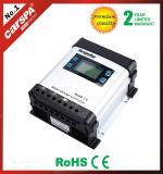 12V / 24V Auto Rated Tension PWM Regulador Solar Controlador de carga 50A