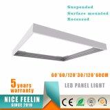 El panel montado superficie 60W AC100-240V 100lm/W de la instalación los 60*120cm LED