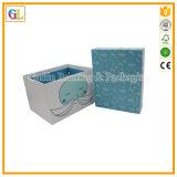 Caixa de papel do OEM com a caixa de presente de dobramento do cartão