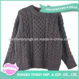 Camisola desproporcionado do Crochet de lãs da fantasia Hand Knitted das senhoras