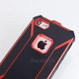 Hybride PC TPU Rüstungs-Kästen für iPhone 7 harten Fall