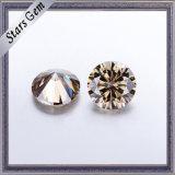 Personalizzare il diamante disponibile di Moissanite di colore di Champagne di taglio