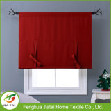Cortinas vermelhas de venda quentes da cozinha da cozinha das valências da cortina
