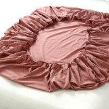 大きいロットのための3組のPCSの綿の赤い羽毛布団セット