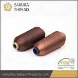 자수 뜨개질을 하기를 위한 상류 금속 털실