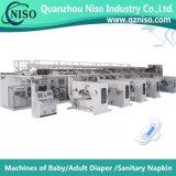 400PCS/Min 생산 속도 기계를 만드는 자동 장전식 위생 냅킨