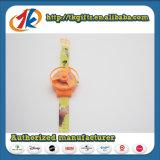 Jouets en plastique de vol de l'espace de tireur de forme de montre de jouets promotionnels