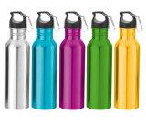 Бутылка спорта изготовленный на заказ нержавеющей стали качества еды алюминиевая