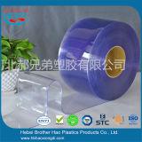 gordijn van de Deur van de Strook van de Breedte van 200mm het Antistatische Blauwe Transparante Vlotte Plastic