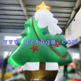 Décoration extérieure gonflable de Noël/arbre de Noël gonflable promotionnel