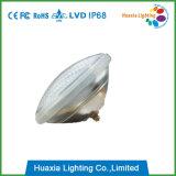 LED ciánico que nada la luz subacuática