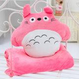 Het Karakter van het beeldverhaal Mijn Stuk speelgoed van de Pluche van het Hoofdkussen van het Kussen van de Vorm van de Buur Totoro Aangepast Gift Gevuld