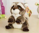 Симпатичный малый плюш Racoon Toys куклы
