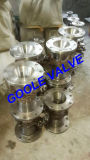 válvula de esfera reduzida manual do furo do aço de molde 300lb (GARQ41F)