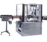 Tipo linear máquina de etiquetado automática de las botellas y de las latas de la máquina de rellenar de la goma
