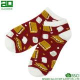 Носки лодыжки хлопка шаржа счастливые оптовые