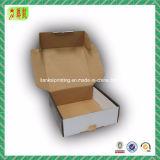 Caixa de transporte superior do correio do papel ondulado da dobra