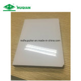 Witte MDF van de Melamine van de Kleur UV met 1220*2440*15mm Grootte
