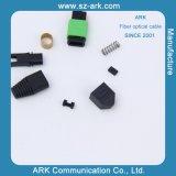 Cable óptico de fibra de MPO de la fábrica de Shenzhen