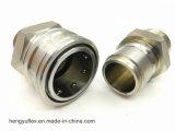 Poussée ISO5675 métrique et couplage rapide hydraulique à tirette d'acier