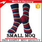 Formmens-Kleid-Baumwollsocken des Großverkauf-2017/Qualitäts-glückliche gestrickte Socken