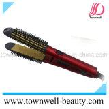 Utilisation multifonctionnelle 3 dans 1 redresseur de cheveu et bigoudi et balai