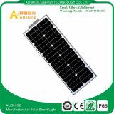 Luz de rua solar do diodo emissor de luz 20W do preço de qualidade superior baixa com o tudo em um projeto
