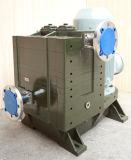Horizontale ölfreie trockene Schrauben-industrielle Wasserkühlung-Vakuumpumpe (DSHS-50)