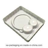 中国のヘッドセットのプラスチック包装のための白いまめの皿