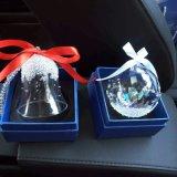 Pendente da esfera de cristal do Natal para o carro (JG680)