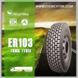 13r22.5 todo neumáticos de acero del fango de los neumáticos del carro que minan los neumáticos radiales del carro de los neumáticos con el PUNTO Smartway del alcance