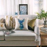 Coperchi di tela dei cuscini di manovella del cotone di lusso per spazio della base