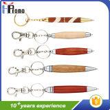 De promoción de la torcedura de madera Pen con Llavero