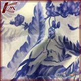 Le coton le tissu de mélange qu'en soie a personnalisé a estampé 30 le tissu de coton de la soie 70