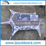 шатер тени звезды 14X19m напольный алюминиевый с печатание логоса